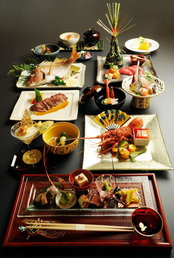 I Like Japanese Food And This Is The Course Menu Based On The Sea Food I Particularly Like The Salmon 日本料理 日本食のアート フードデザイン
