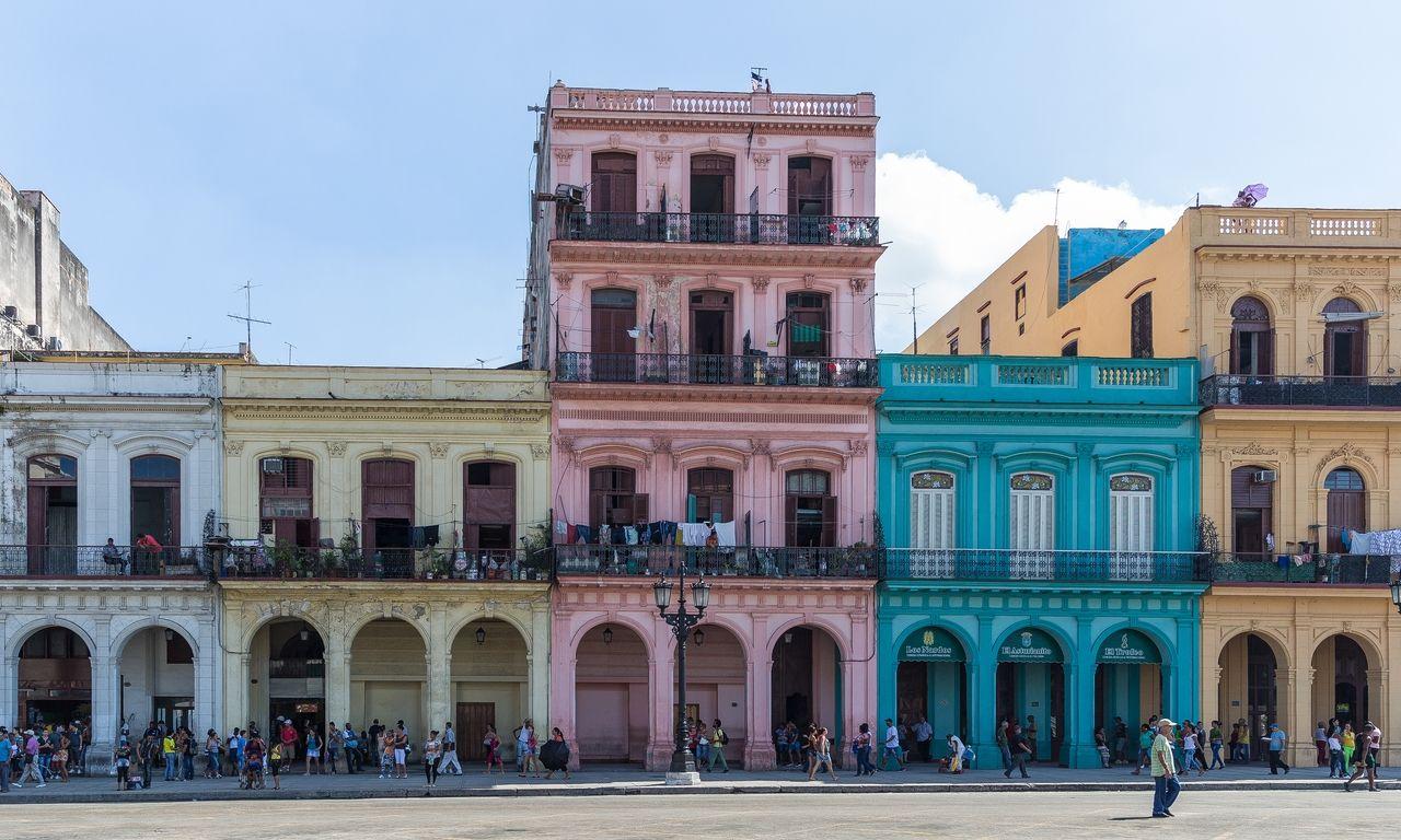 Calle en la Habana La habana, Casas, Cuba
