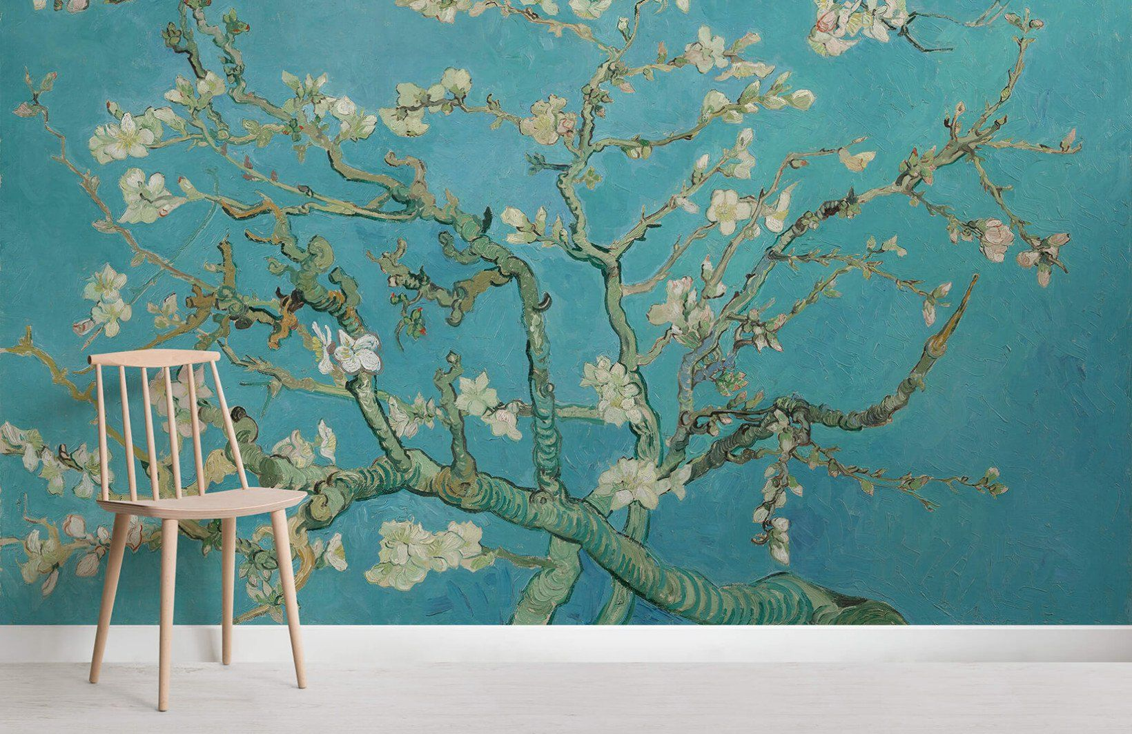 Almond Branches by Van Gogh Wallpaper MuralsWallpaper