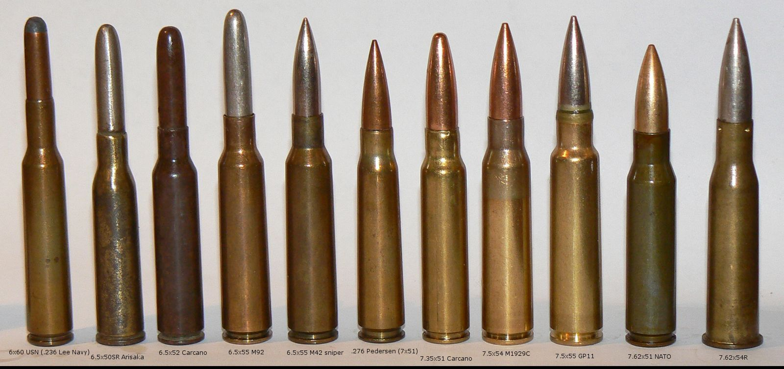 Bullet Caliber Comparison Charts x 58 | Sub-Silent Suppressors #gunsammo