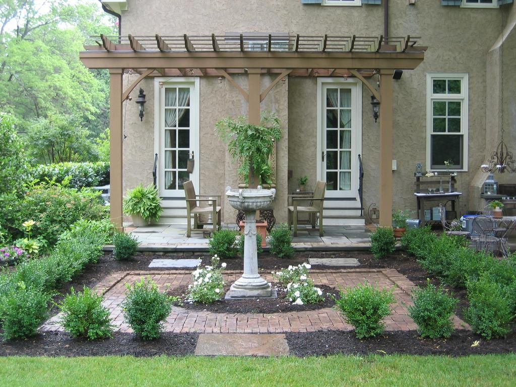Garden style the english cottage garden where the old - Garden Cottage Style Gardenlandscaping Nj Landscape Old English Garden Jpg Provided By Parker Homescape
