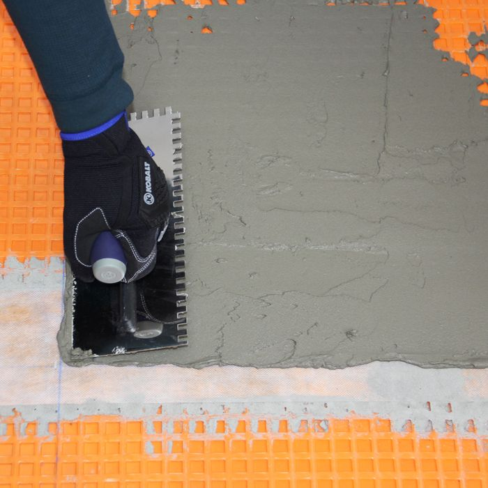 How To Lay Tile Diy Floor Tile Installation Using Schluter Systems