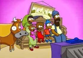 Os Simpsons foram traduzidos para diversas línguas, mas sua versão árabe chega a ser bizarra, onde a família teve o nome alterado para Al Shamshoons. Os personagens também tiveram mudanças, Homer é Omar, Bart é Abar e até Springfield teve o nome alterado para Rabeea-Spring. Tiveram várias outras alterações.