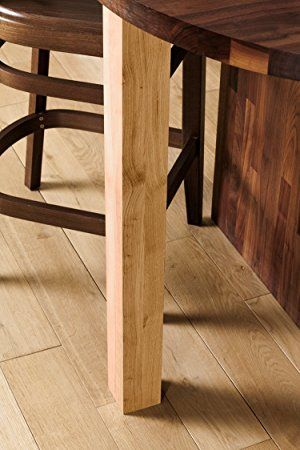 Breakfast Bar Worktop Support Table Leg In Various Finishes Wood
