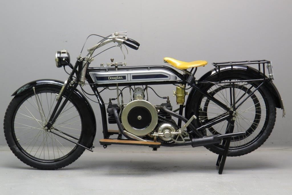 Douglas 1920 4hp 600cc 2 Cyl Sv Classic Bikes Antique Motorcycles Motorcycle