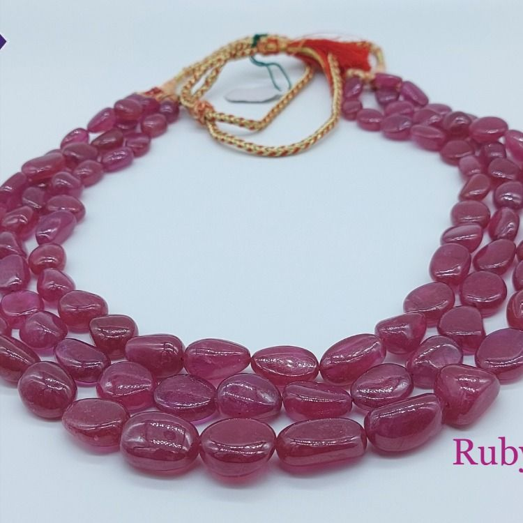 Ruby is one of the most popular traditional jewelry stones, it is so durable also. Ruby is said to give name, fame, vigor, virtue, warmth, and the capacity to command to its user. . #gemsotnesforsale #gemstonesforjewellry #gemstonesjaipur #gemstoneindia #rubybeads #naturalpink #photooftheday #beautiful #naturalruby #ruby #etsyseller #picoftheday #bestoftheday #gemstonesjewelry #stoneforjewellery #jewellery #rubyjewellery #fashionjewellery #clearstone #gemstones #popular #finegem #wirewrapped