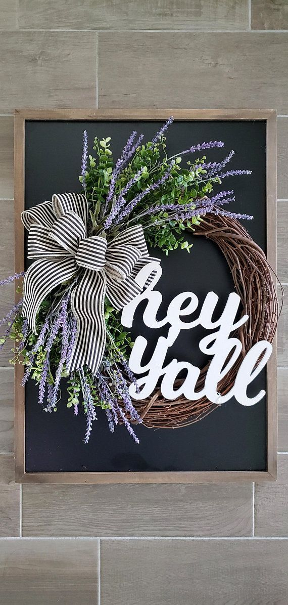 30 Sun-sational DIY Summer Wreath Ideas - Check out these ideas to add a personal touch to your home and outdoor living spaces! #homedecor #wreath #DIY #summer