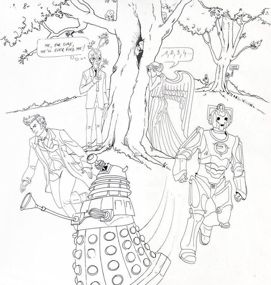Doctor Who Hide And Seek