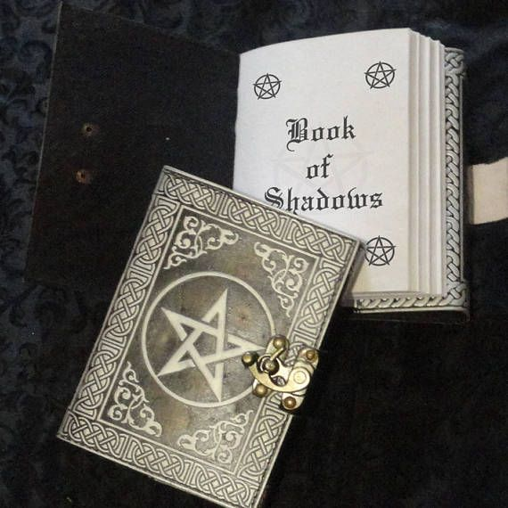 Silver Pentagram Starter Grimoire With Spells And