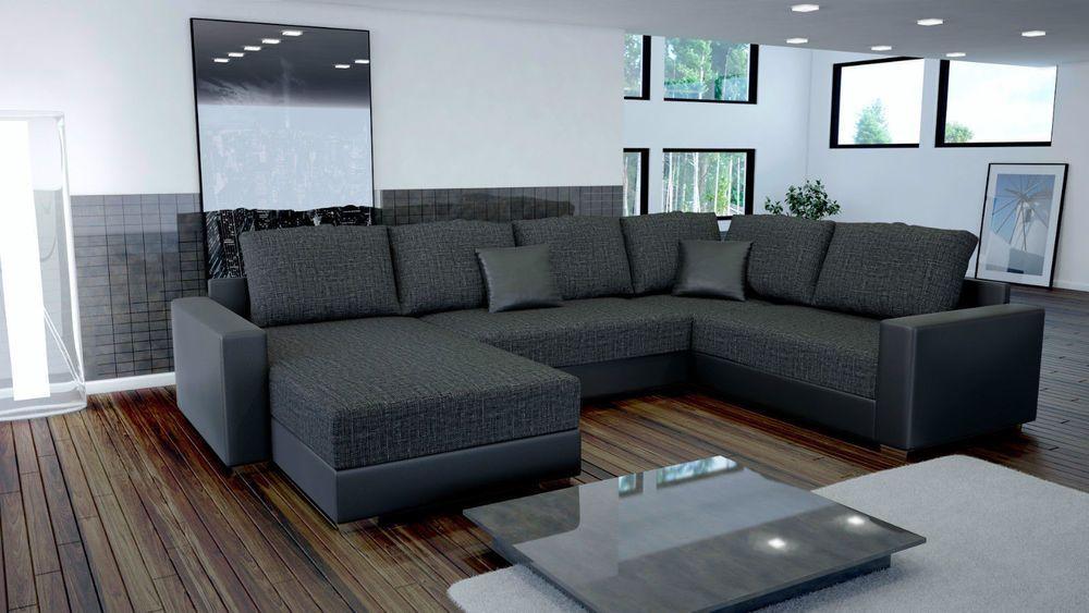 Couch Garnitur Ecksofa Sofagarnitur Sofa Sty 3 U Wohnlandschaft