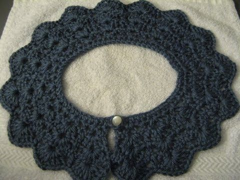Pin By Olga Laureano On Cuellos Crochet Lace Collar Crochet Collar Pattern Crochet Lace