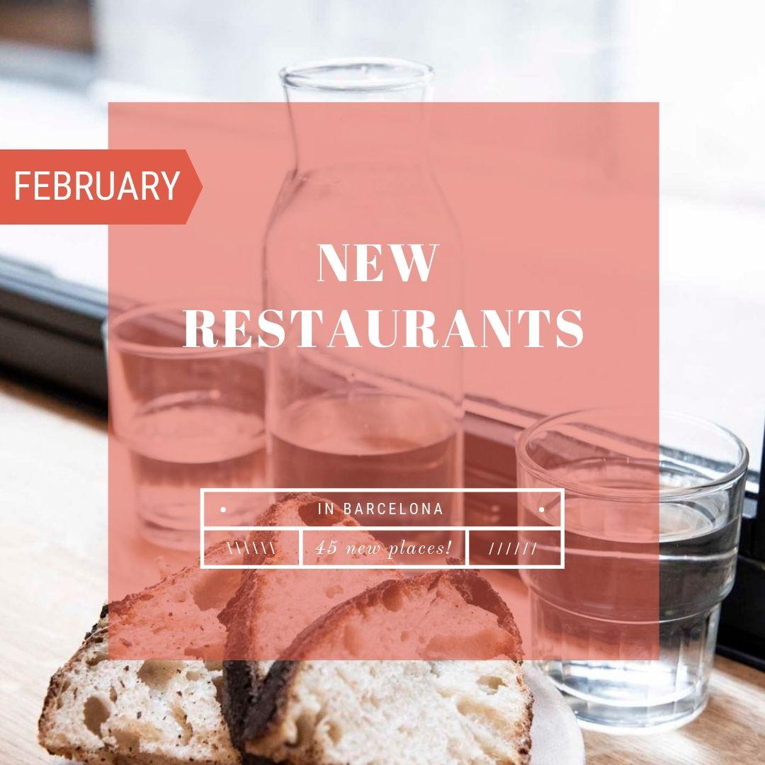45 New Restaurants in Barcelona - February 2019 | Food ...