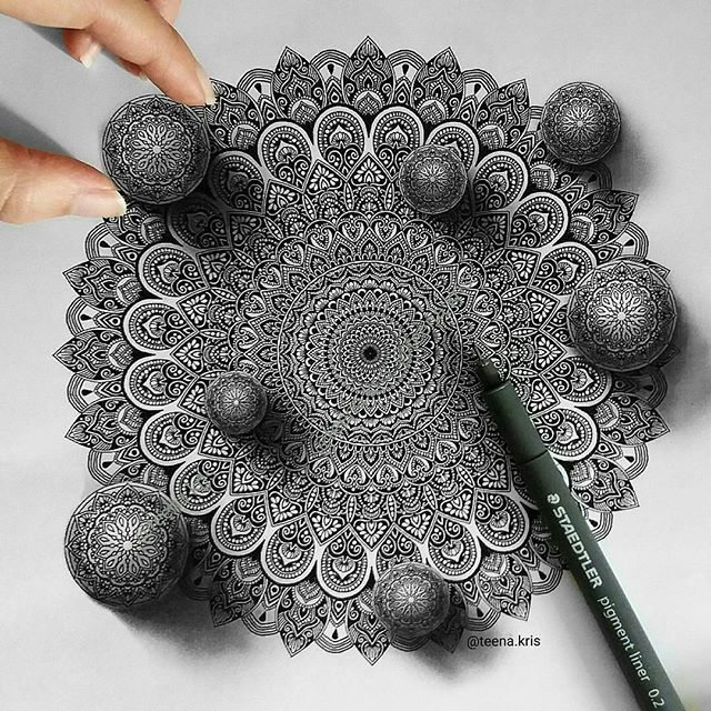 Image result for 3d mandala