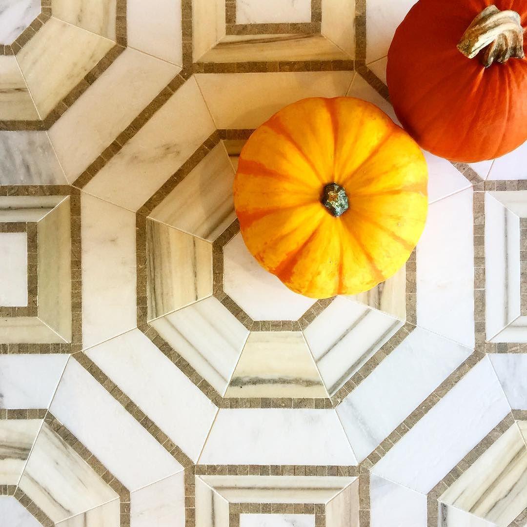 Monday Funday  @walkerzanger Villa D'Oro Palermo Sage Brushed  #monday #mondaymorning #mosaic #tile #marble #beauty #pattern #design #interiordesign #flooring #walls #details #pumpkin #satx #atx #homedecor #tileaddiction #mosaicmonday #travistile by travistilesales