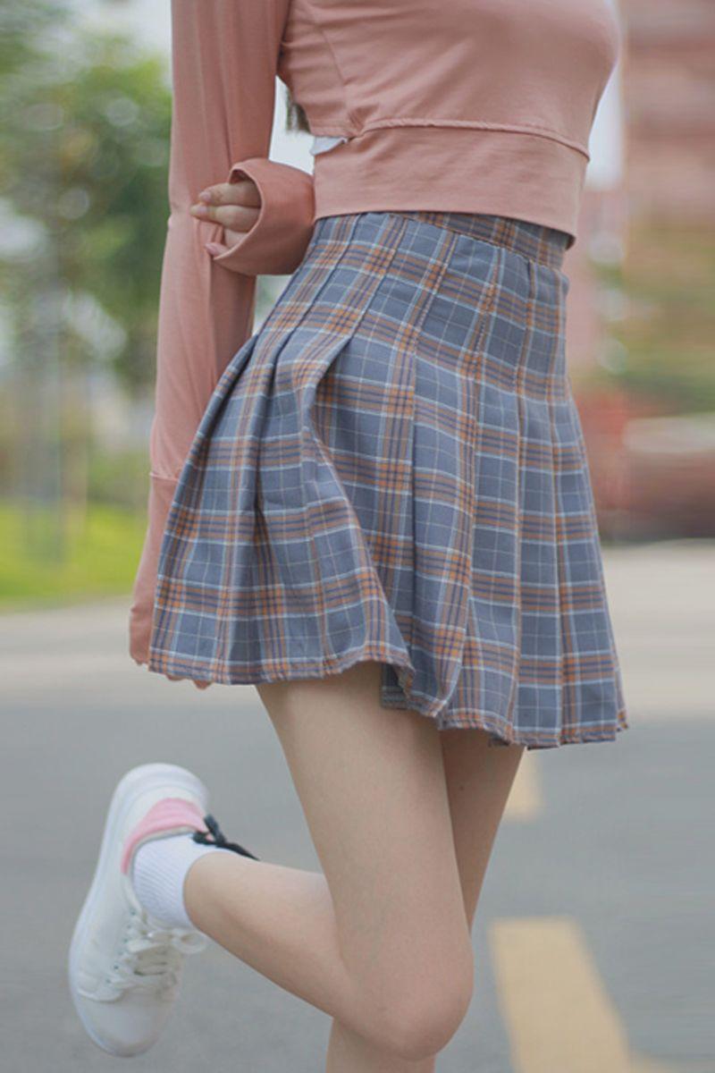 5e176307799 Tb1oktllpxxxxbexxxxxxxxxxxx !!0-item pic large Plaid Pleated Skirt