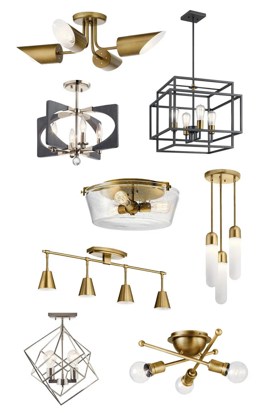 Mid Century Modern Lighting Options For Millie S Remodel In 2020 Modern Lighting Mid Century Modern Lighting Diy Remodel