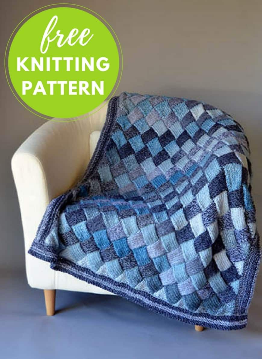 Entrelac Blanket Pattern Free Video Tutorial Best Ideas | Pinterest ...