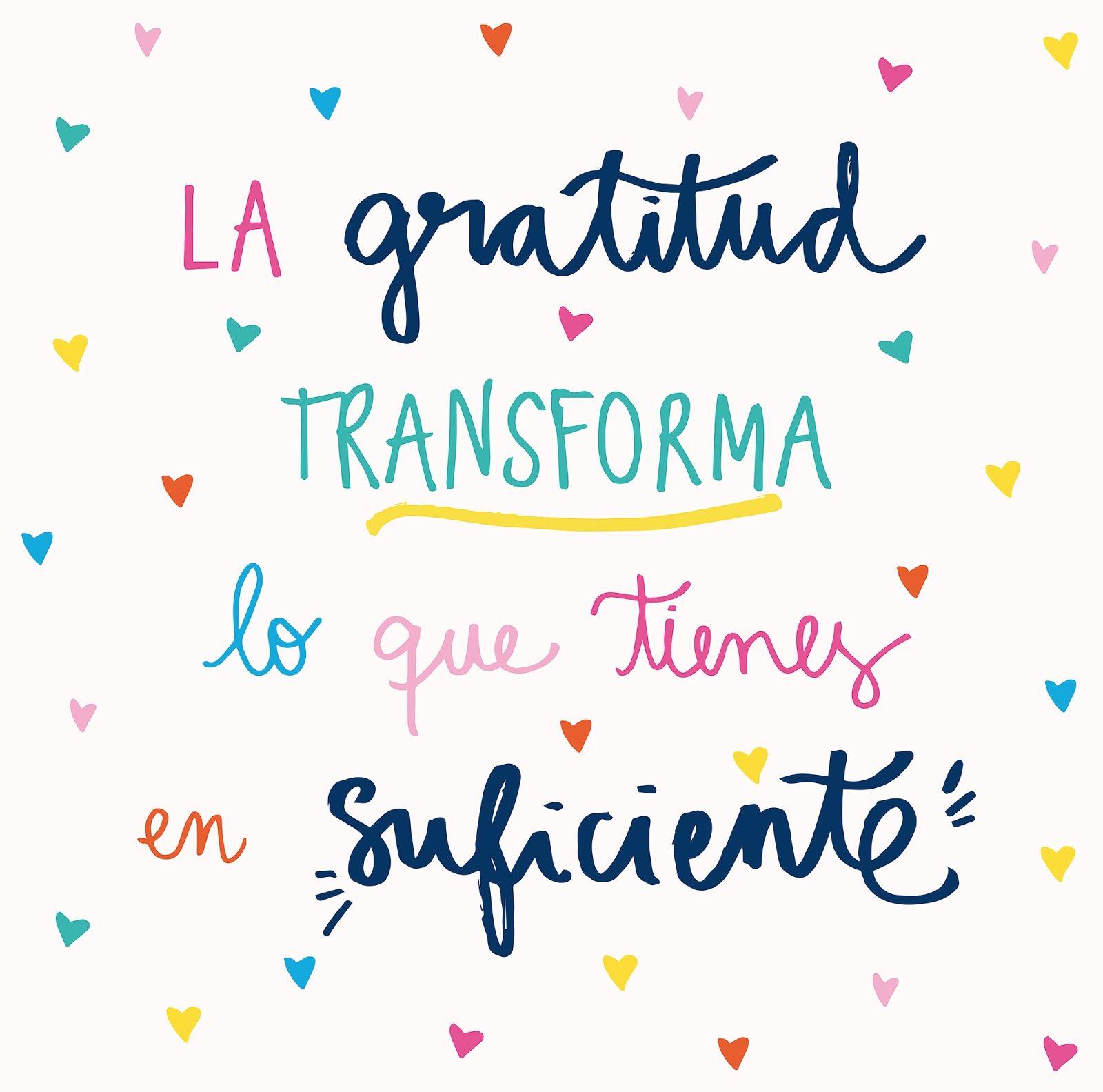 Actitud Y Alegría Gratitud Frases Frases Positivas Y