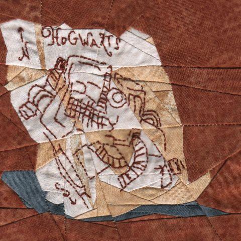 Marauder S Map Paper Piecing Pattern Harry Potter