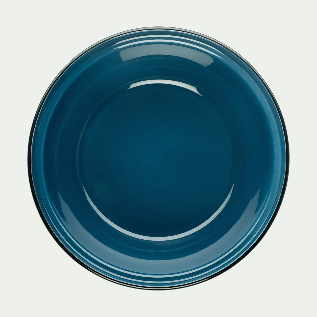 Plat En Verre Sur Plaque Induction tajine avec couvercle en faïence bleu figuerolles - alinéa