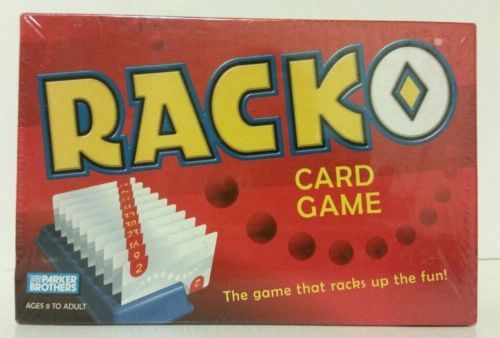Racko Card Game Board Game New Unopened Sealed Parker Brothers