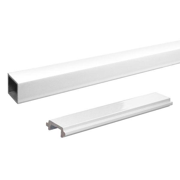 Best Peak Aluminum Railing 6 Ft Black Aluminum Picket And 400 x 300