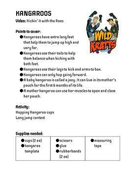 Wild Animals With Wild Kratts Lesson Plans Wild Kratts Wild Kratts Birthday Wild Kratts Birthday Party