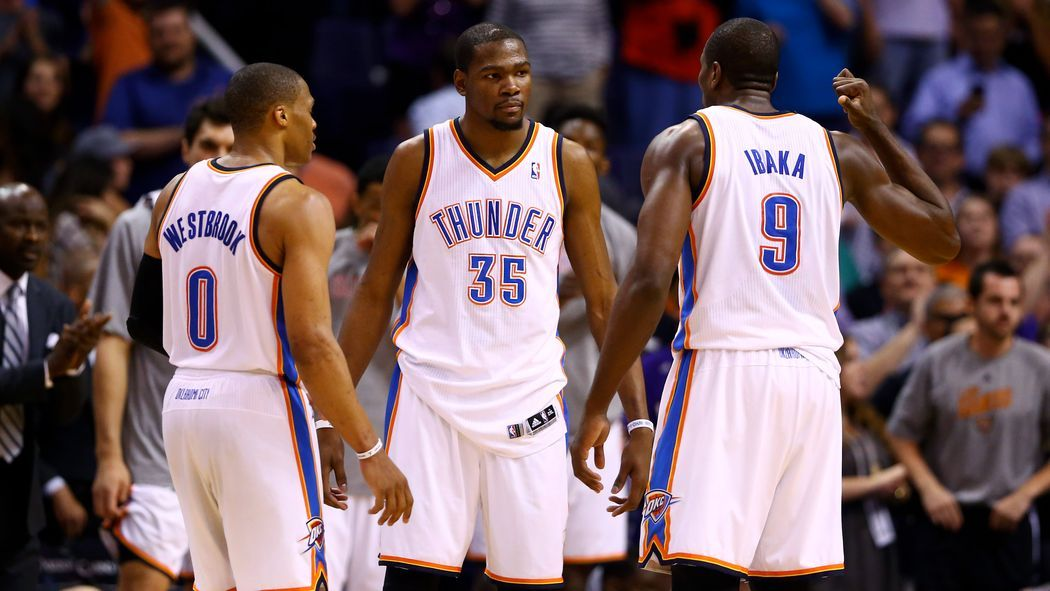 Sports Illustrated Ranks Thunder Players Durant Holds Westbrook And Ibaka Lowered From Year Ago Thunder Players Sports Illustrated Oklahoma City Thunder