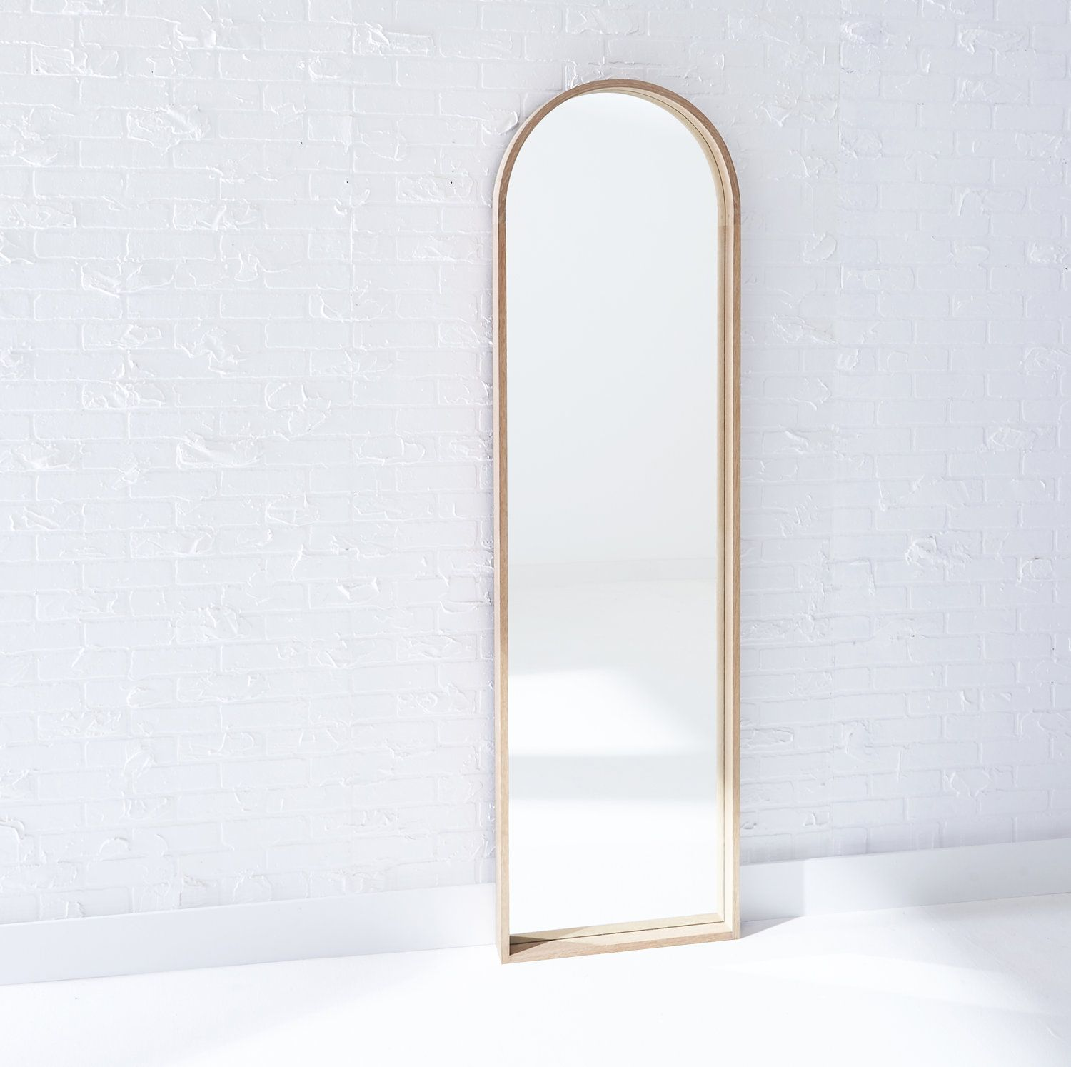 Pin By Sbd Projects On Furniture Mirror White Oak Modern Floor Mirrors