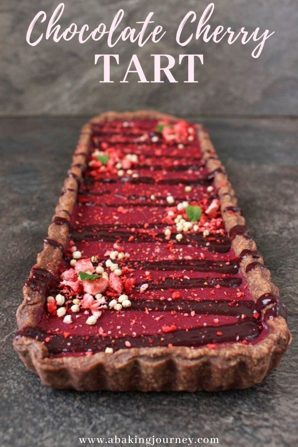 Looking for an epic Holiday Dessert idea Try this Chocolate Cherry Tart The homemade chocolate shortcrust pastry is filled with a delicious cherry curd and topped with a...