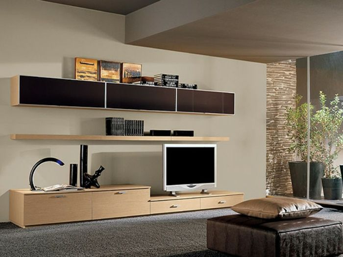 wohnwand modern inneninterieur, wohnwand modern zur bestimmung von inneninterieur #bestimmung, Möbel ideen
