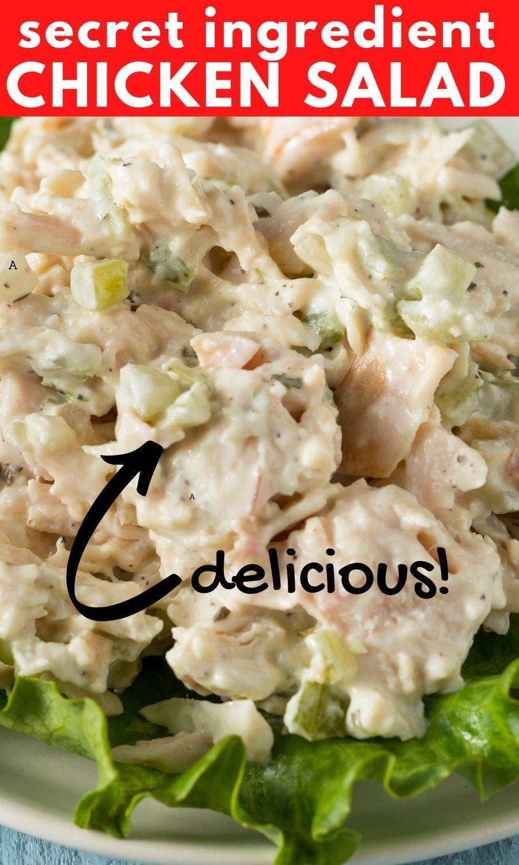 Secret Ingredient Chicken Salad