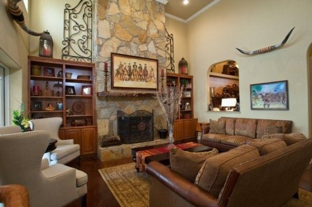 Western decorating ideas for living rooms fancy western for Western living room designs