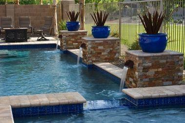 Arizona Pools And Landscaping Google Search With Images Arizona Backyard Backyard Pool Landscaping Backyard Arizona