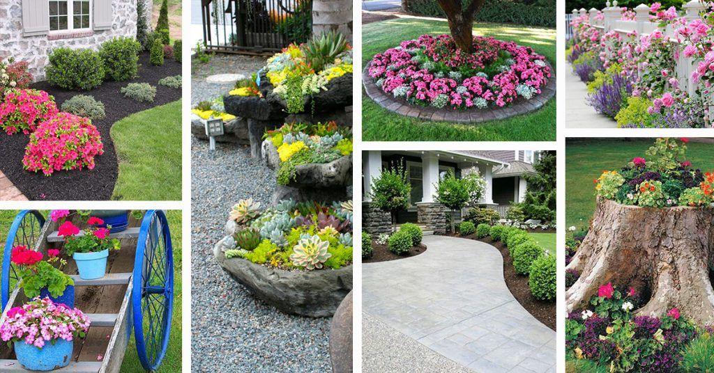 Photo of 50 Brilliant Front Garden and Landscaping Projects You'll Love