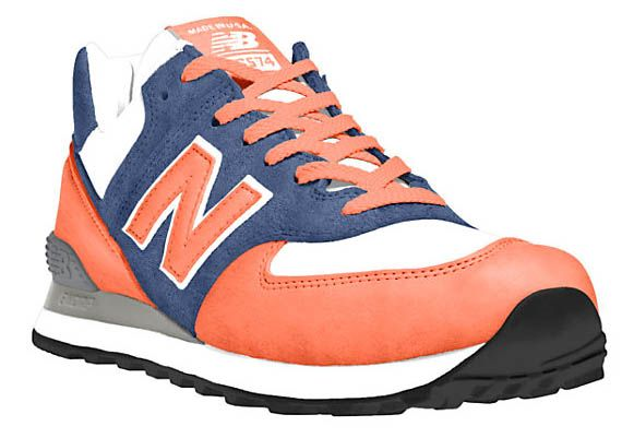 customizable New Balance sneakers $115 design your own!