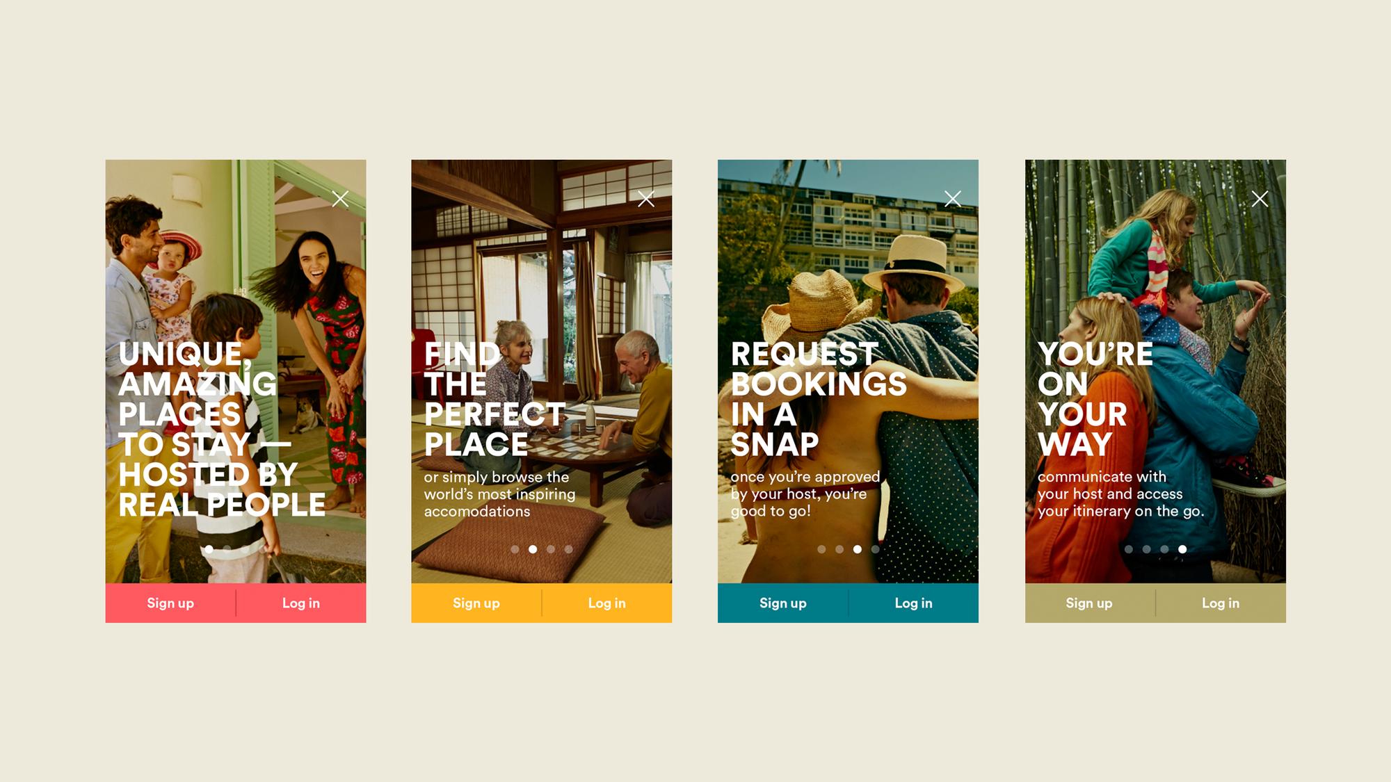 Airbnb Digital Designstudio Branding And Digital Agency Airbnb Design Airbnb App Travel App