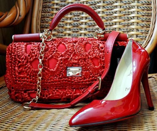 Louboutin Couture Shoesred Lacered Shoeshandbag Accessoriescherryredhaute
