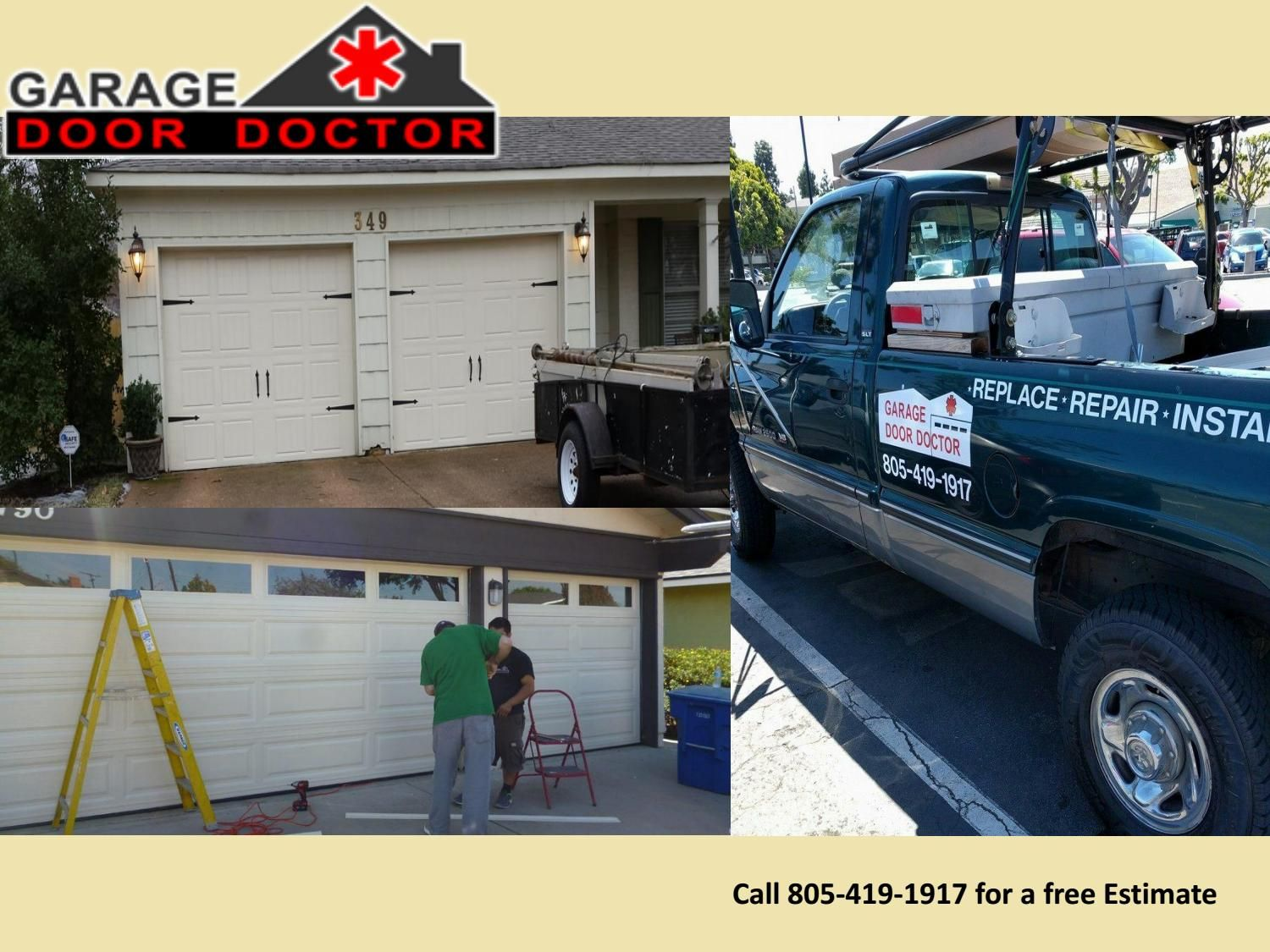 Manual And Automatic Garage Door Installation Pinterest Garage