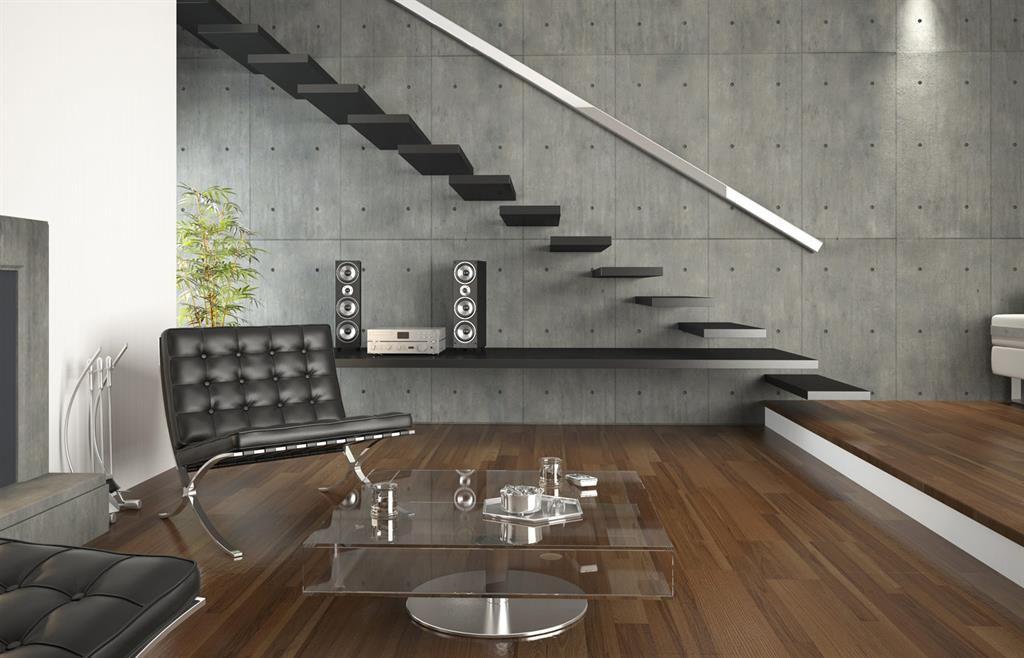Salon avec escalier noir | escaliers en 2018 | Pinterest | Escaliers ...
