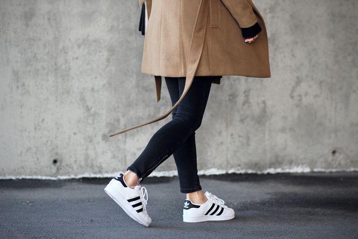 adidas superstar femme camel