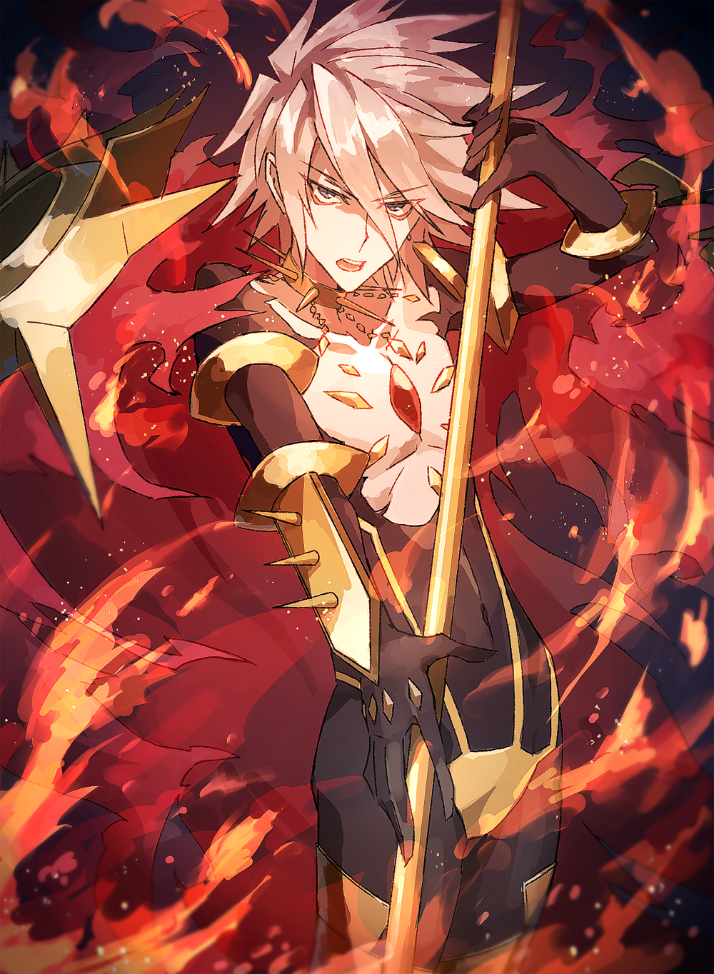 Karna Fate | Xtras | Fate servants, Fate zero, Fate stay night