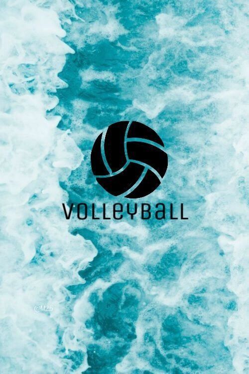 Pin By Omscott On Volleyball Volleyball Backgrounds Volleyball Drawing Volleyball Wallpaper