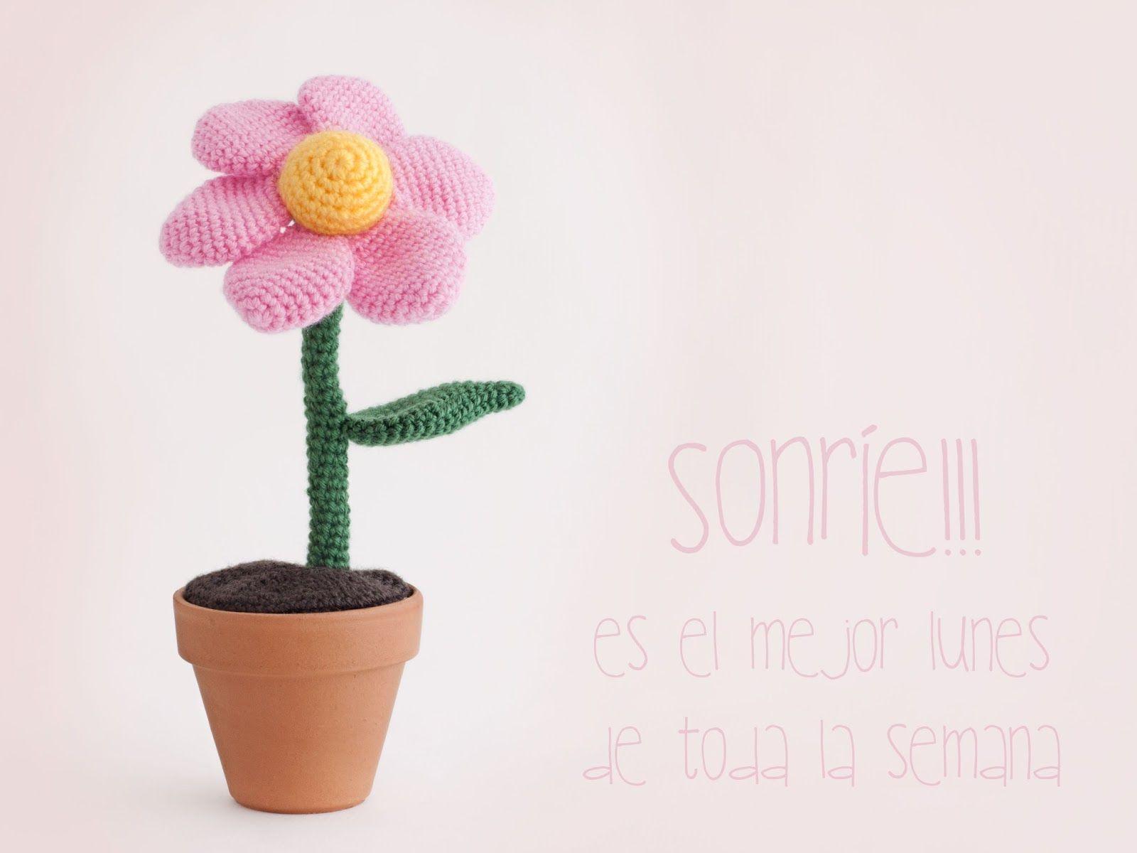 Amigurumi Flower Tutorial : Amigurumi flower free crochet pattern tutorial free