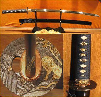 Katana, Japanese sword.