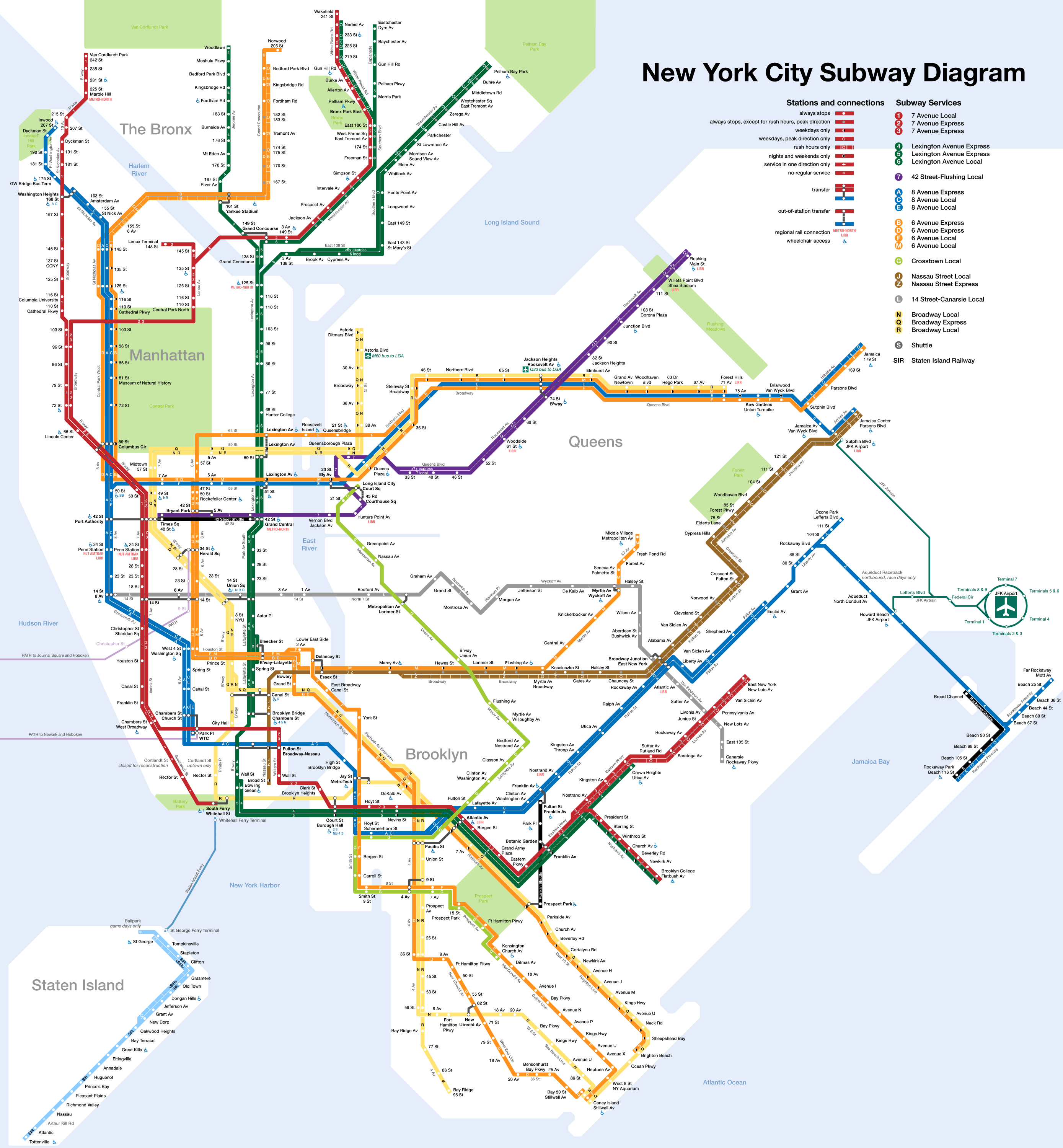 This Is Better Than The Mta Subway Map New York City You Have My