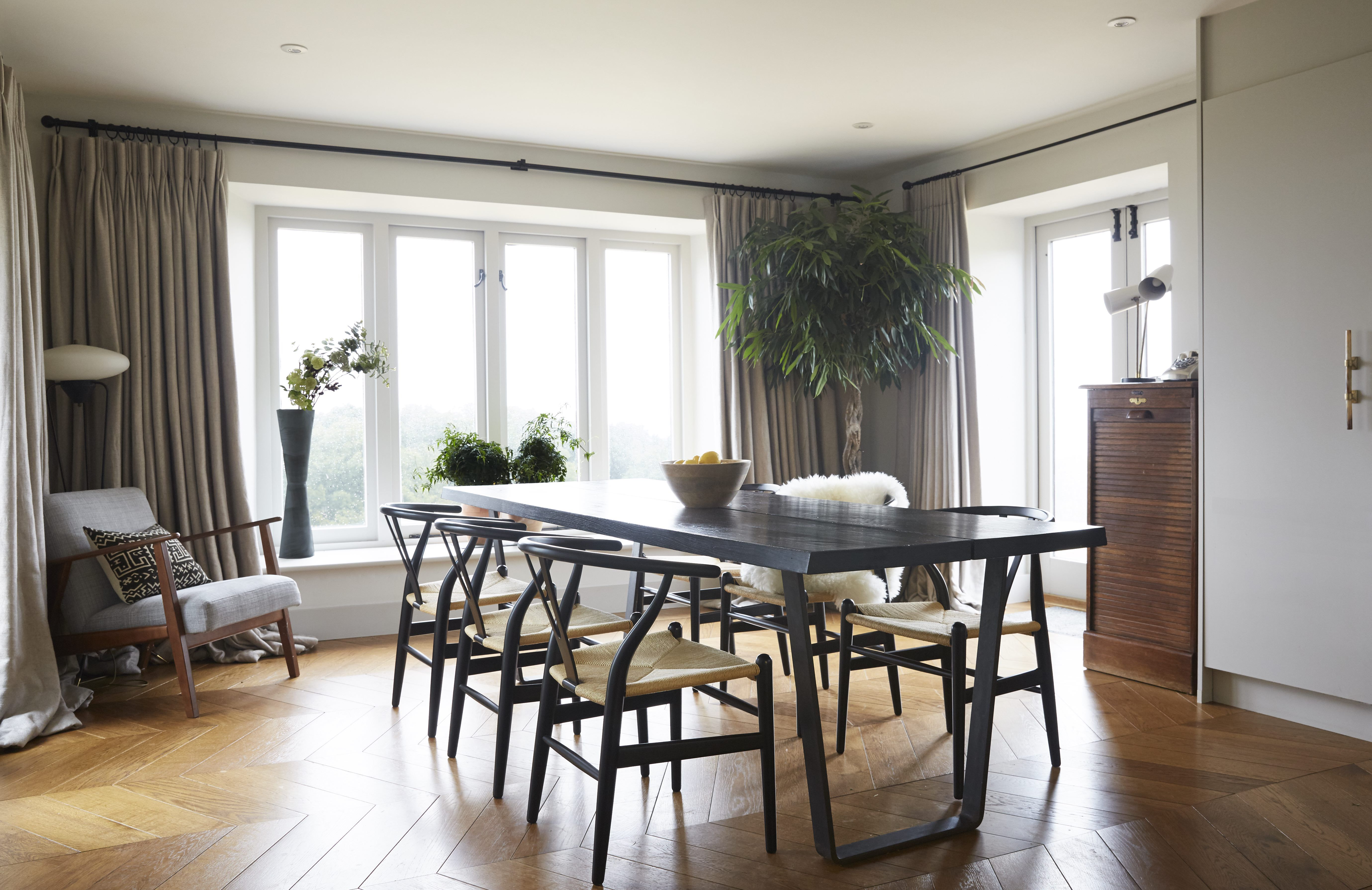 Hill House Somerset  Studio Ashby  D I N I N G  Pinterest Magnificent Mid Century Modern Dining Rooms Inspiration