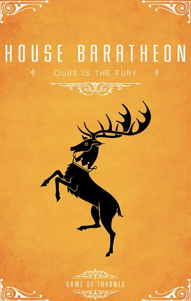 Of Thrones House Posters
