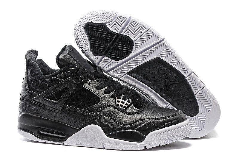 1437fde0725296 Men s Nike Air Jordan 4 Retro Horsehair Black