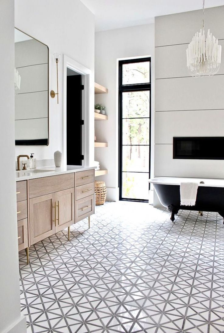 Photo of modern bathroom home and interior style inspiration